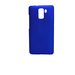 Rubberized Hard Case for Huawei Honor 7 (Blue)