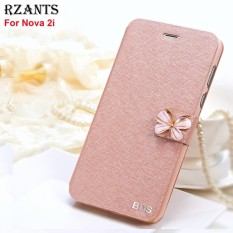 Rzants For Nova 2i Luxury Slim【Butterfly】with Stand Magnetic Leather Flip Case Cover