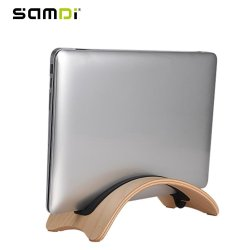 SAMDI Lightweight Wooden Laptop Stand Holder Wood Support for Mac Air - intl