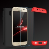 Samsung Galaxy J7 2017 / J7 Pro Shell , Mooncase Frosted Armor Hard PC Back Cover 360 Full Body Shockproof Protective with 3 Detachable Parts Phone Case ...