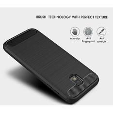 Samsung Galaxy J7 Pro Case Premium Carbon Fiber Brushed Rugged Soft TPU Case