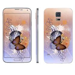 Samsung Galaxy S5 Skin Butterfly 1 by Oddstickers