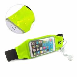 Screen Touch Waterproof Waist Bag Pouch Case for iPhone 6Plus/6sPlus (Green)
