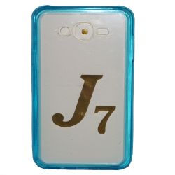 Senior Case for Samsung J7 Blue