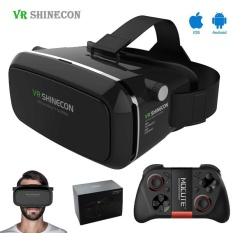 3bd47078baa Shinecon VR Virtual Reality 3D Headset Glasses Google Cardboard 3D VR Box  Glasses For 4.7-