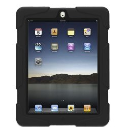 Shockproof Case for iPad 2/3/4 (Black)