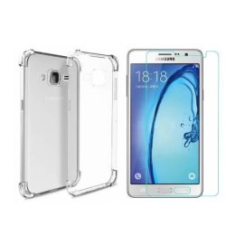 Shockproof TPU Case for Samsung Galaxy ON7 (Clear)