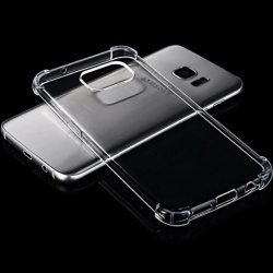Shockproof TPU + PC Case for Samsung Galaxy S8 Plus (Clear)