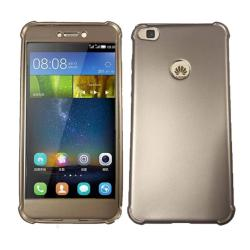 Shockproof TPU Soft Mobile Case for Huawei GR3 2017 - Gold