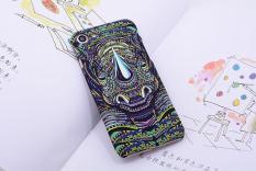 SHUNJIA [Night Luminous Glow] Rhinoceros Pattern Hard Case For iPhone 7 - intl