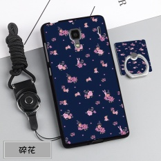 Silica Gel Soft Phone Case for Xiaomi Redmi 1/1S with a Rope and a