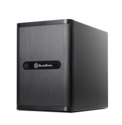 SilverStone DS380 Black 8-Bay Premium SFF NAS Case
