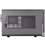 SilverStone Sugo 13 Black Mini ITX Case with Faux Aluminum Finish - thumbnail 4