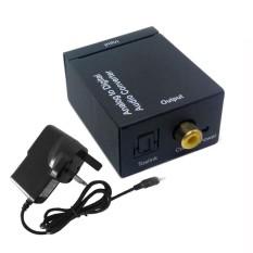 Simida Technology Smart Life Analog to Digitals Coax RCA Optical Toslink Signal Audio Converter Adapter L