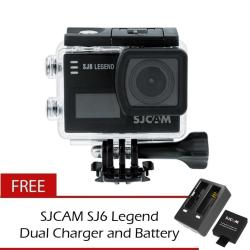 Authentic SJCAM SJ6 Legend 4K Wifi Action Camera with Free Battery and Charger
