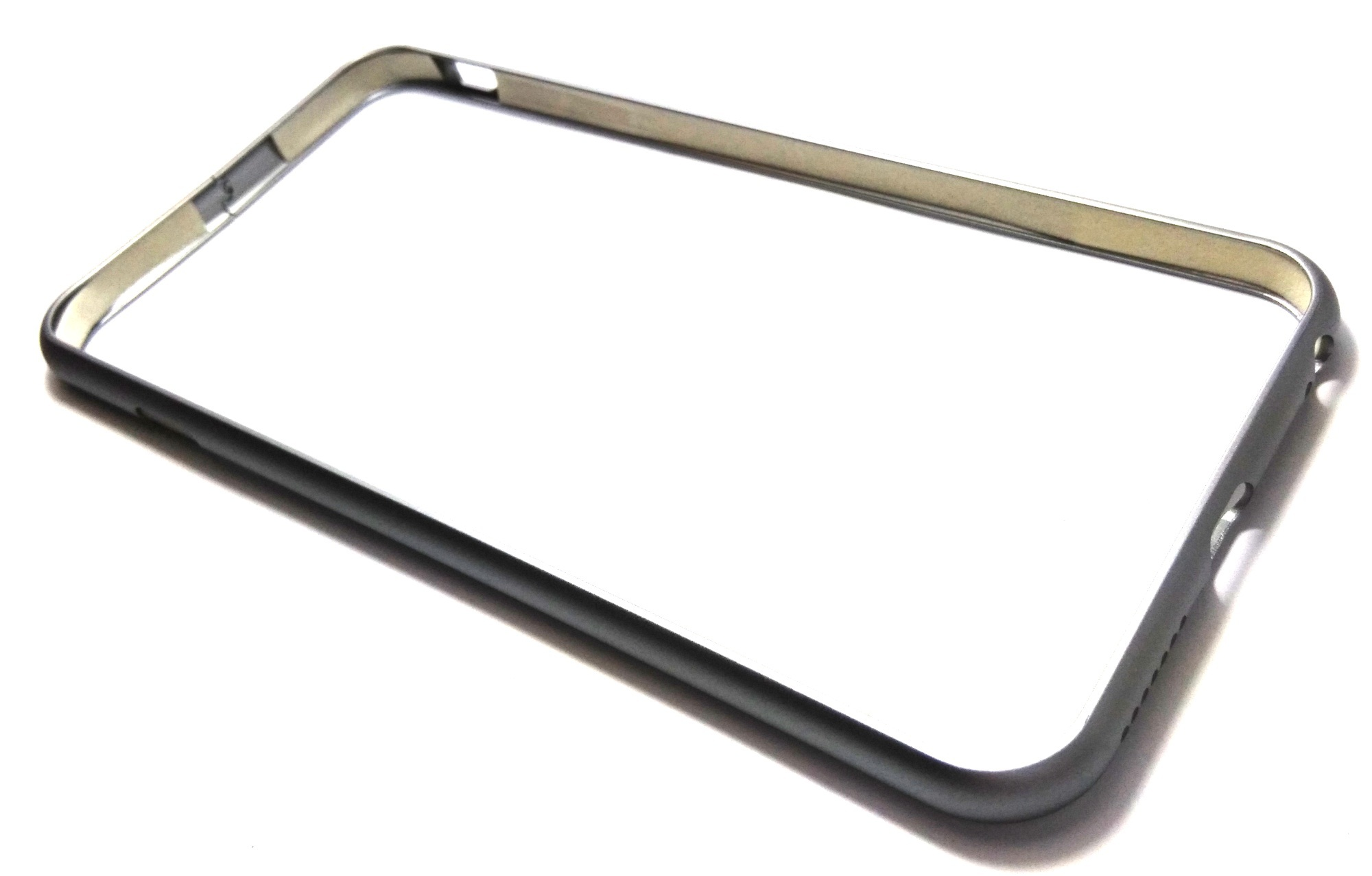 "Sleek Metal Bumper for 5.5"" iPhone 6 Plus/6s Plus (Dark Grey)"