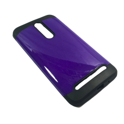 Slim Two Tone Protective Case for Asus Zenfone 2 - Purple
