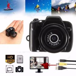 Smallest 720P HD Camera Camcorder (Black)