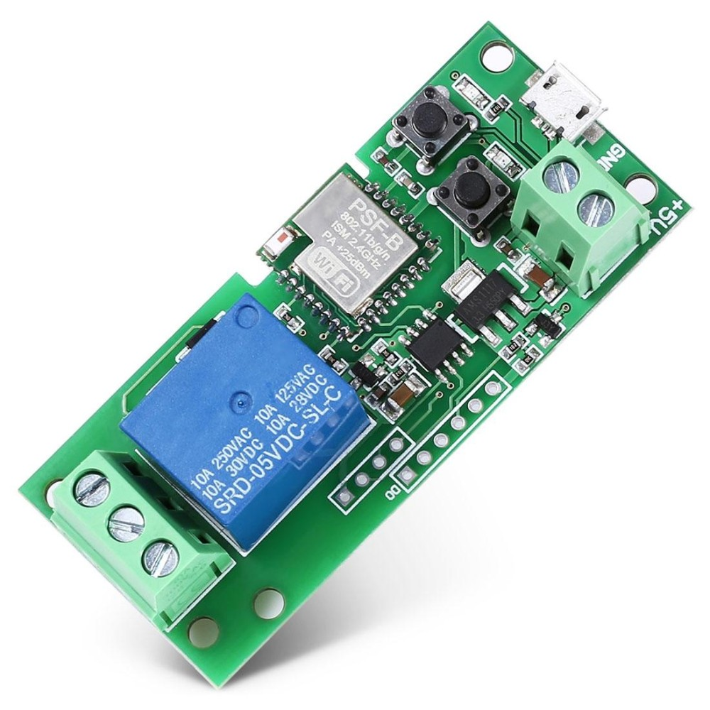 Smart Home WiFi Mobile Phone Remote Control Switch APP Access Door Lock Relay Module - intl
