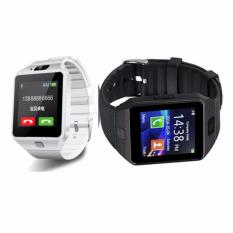 Couple Watch Smart Watch Bluetooth For Android Support Sim Card(white/black) Dz09 By Septwolves General Merchandise.