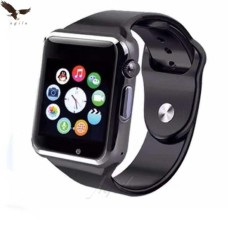 Smart Watch Bluetooth Touch Screen Sports Watch Support Sim Card A1 By Agila General Merchandise.