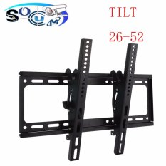 Socum Lcd Led Tv Wall Mount Bracket Tilt For 26 30 32 37 40 42 46 50 52black