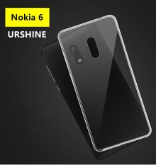 Soft TPU Gel Crystal Clear Case For Nokia 6 Ultra-thin Shockproof Jelly Skin Protective