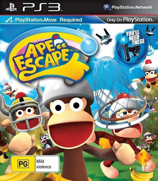 Sony Ape Escape Video Game for PS3
