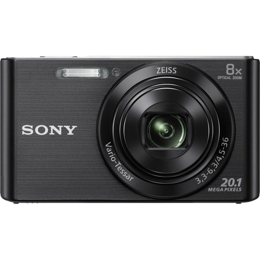 Sony DSC-W830 20.1MP 8x Optical Zoom (Black) product preview, discount at cheapest price