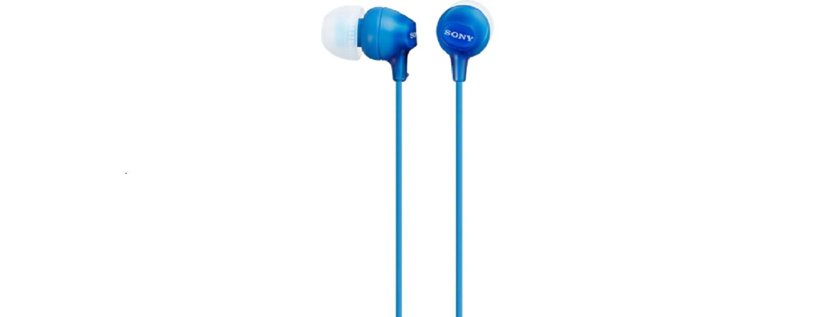 Sony MDR-EX15LP/15AP In-Ear Headphone (Blue)