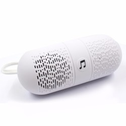 Sound Bytes Pill XC-10 Mini Bluetooth Speaker (White)