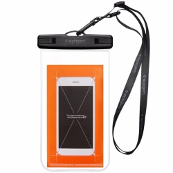 Spigen A600 Velo Universal Waterpoof Phone Case Crystal Clear