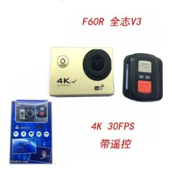 Sports Action Camera Ultra HD 2.4G Remote WiFi 170 Degree Wide Angle Waterproof - intl