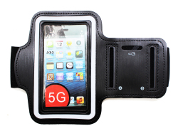 Sports Armband for iPhone 5S (Black)
