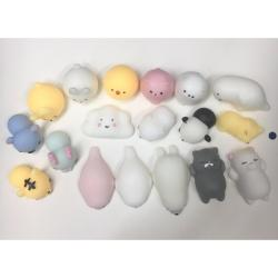 Squishy Phone Straps Asstd - 3pcs