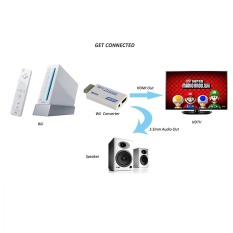 Stoga Wii Hdmi Converter Scales Wii Signal To 720p And 1080p - Wii To Hdmi Wii2hdmi 720p Or 1080p Video Converter Adaptor Hd - Intl By Live Birds.