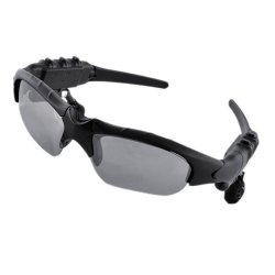 Sun-glasses  Bluetooth  Sports Headset With Micphone (Black)