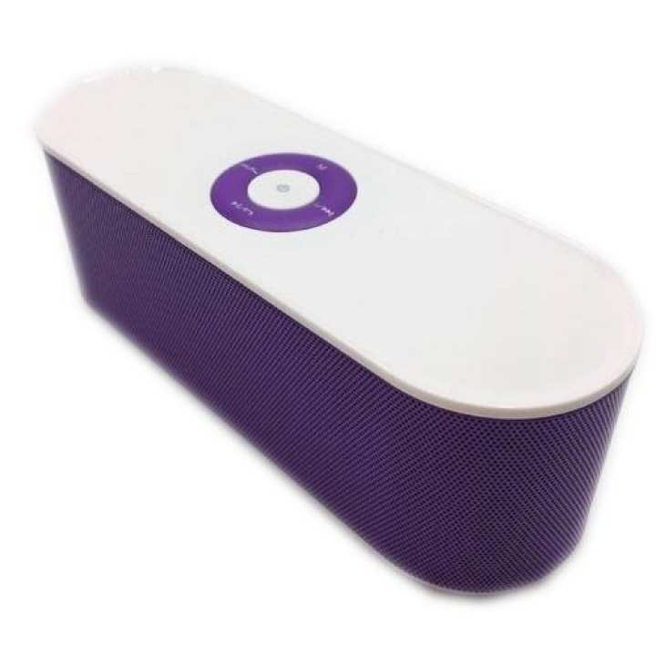 S207 Portable Bluetooth Dual Speaker (Violet)