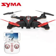 Syma Toys X56W Wi-Fi FPV G-sensor Foldable Drone 2 4G 4CH 6-axis Gyro RC  Quad copter RTF with Altitude Hold Headless Mode Track-controlled Mode