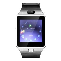 T1 Smartwatch Bluetooth Phone SIM 0.3MP Camera (Black)