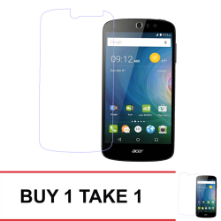Tempered Glass For Acer Liquid Z530 Buy 1 Take 1 (Clear)
