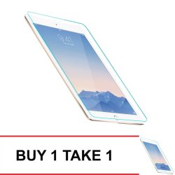 Tempered Glass for iPad Mini4 Buy 1 Take 1 (Clear)