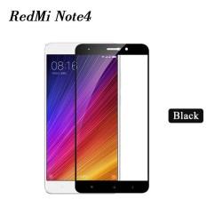 Tempered Glass Full Screen Protector HD For Xiaomi Redmi Note 4 (Black)