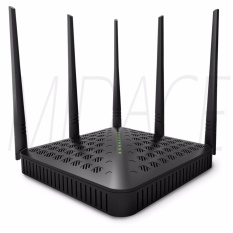 Tenda Fh1202 Ac Dual-Band 1200mbps Wireless Wifi Router Wi-Fi Repeater 5x5dbi Antennas 2.4g & 5g Wi Fi Router English Firmware By Midace.