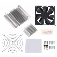 Thermoelectric Peltier Refrigeration Cooling System Heatsink Kit By Makerlab Electronics.