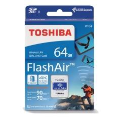Toshiba Flashair 64gb Wireless Wifi SDXC Card