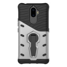 Tough Heavy Duty Dual Layer Armor Combo with Swivel Kickstand Protective Hard Case