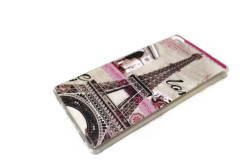 TPU Case for Huawei Ascend P8 (Paris Eiffel Tower)