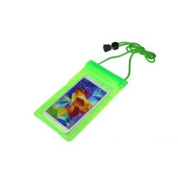 Travel Swimming Case Cover for 5.5 inch Cell Phone (Green)