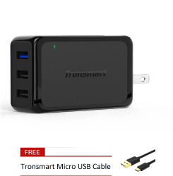 Tronsmart W3PTA Quick Charge 3.0 42W 3 Port Wall Charger
